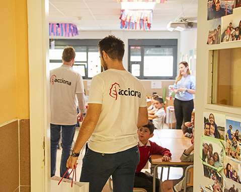 ACCIONA and its over 6,270 volunteers on International Volunteer Day 2018