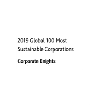 2019 Global 100 Most Sustainable Corporations