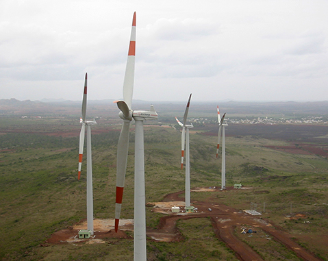 ARASINAGUNDI AND ANABARU WIND FARMS