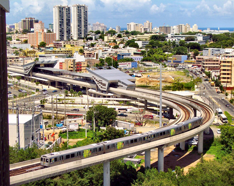 SAN JUAN DE PUERTO RICO URBAN TRAIN