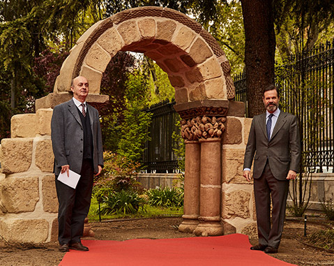 Spain's National Archaeological Museum and ACCIONA mark a milestone by 3d printing the Arch of San Pedro de las Dueñas