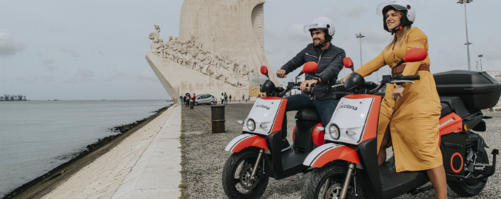 ACCIONA launches its scooter sharing service in Lisbon