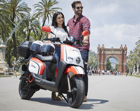 ACCIONA launches its electric scooter sharing service in Barcelona