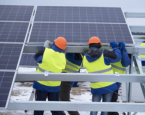 TWO PV PLANTS IN THE ODESSA REGION
