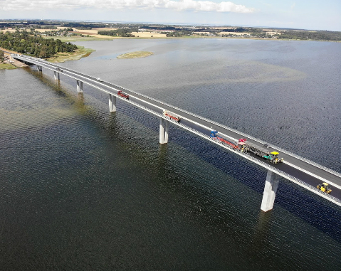 ACCIONA inaugurates highway over Roskilde Fjord in Denmark