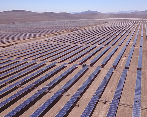 ACCIONA is awarded the supply of electricity to ECONSSA'S desalination plant in Atacama with 100% renewable energy