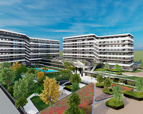 ACCIONA and Hines planning 31,000 m² of rental homes in Madrid