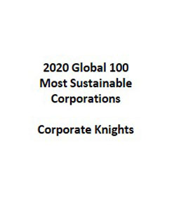 2020 Global 100 Most Sustainable Corporations