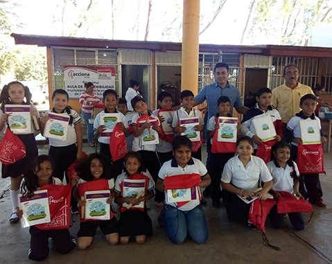 6,700 pupils and teachers have participated in ACCIONA's Sustainability Workshop in Mexico in the last three years