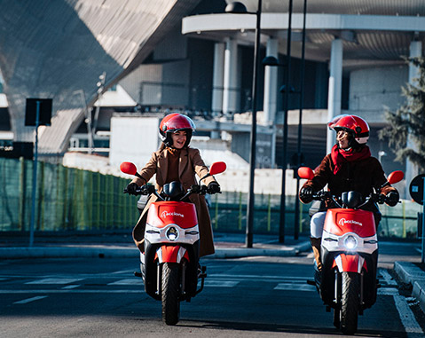 ACCIONA launches motosharing service in Milan