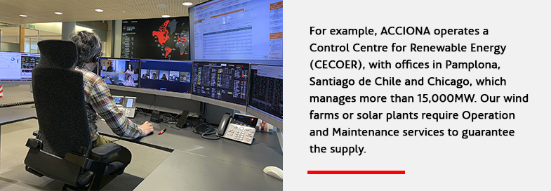 Control Centre for Renewable Energy