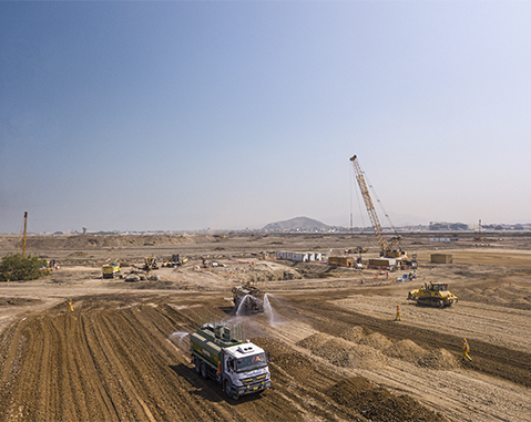 ACCIONA to build Lima new airport's control tower in Peru