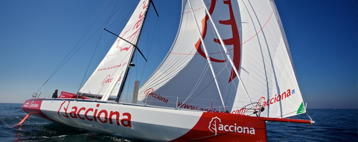 ACCIONA EcoPowered: the world's first zero-emissions sailboat at Vendée Globe