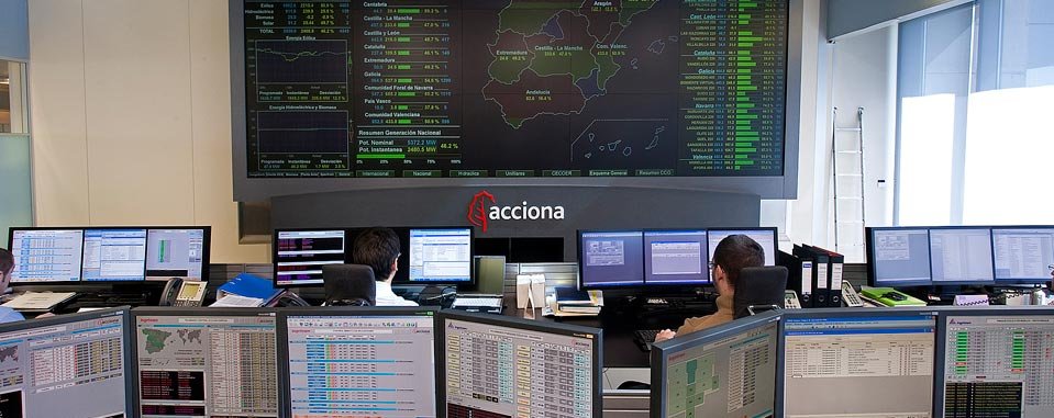 Renewable energy control center (CECOER)