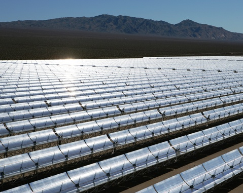 """Nevada Solar One"" solar thermal/CSP plant"