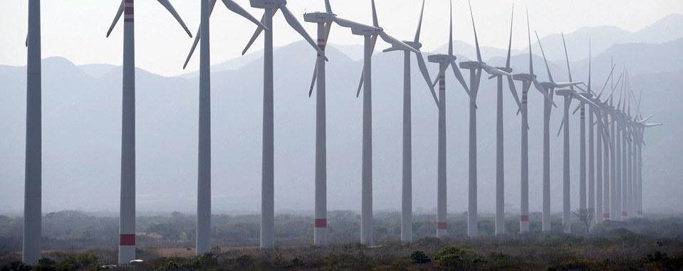 Wind complex in Oaxaca