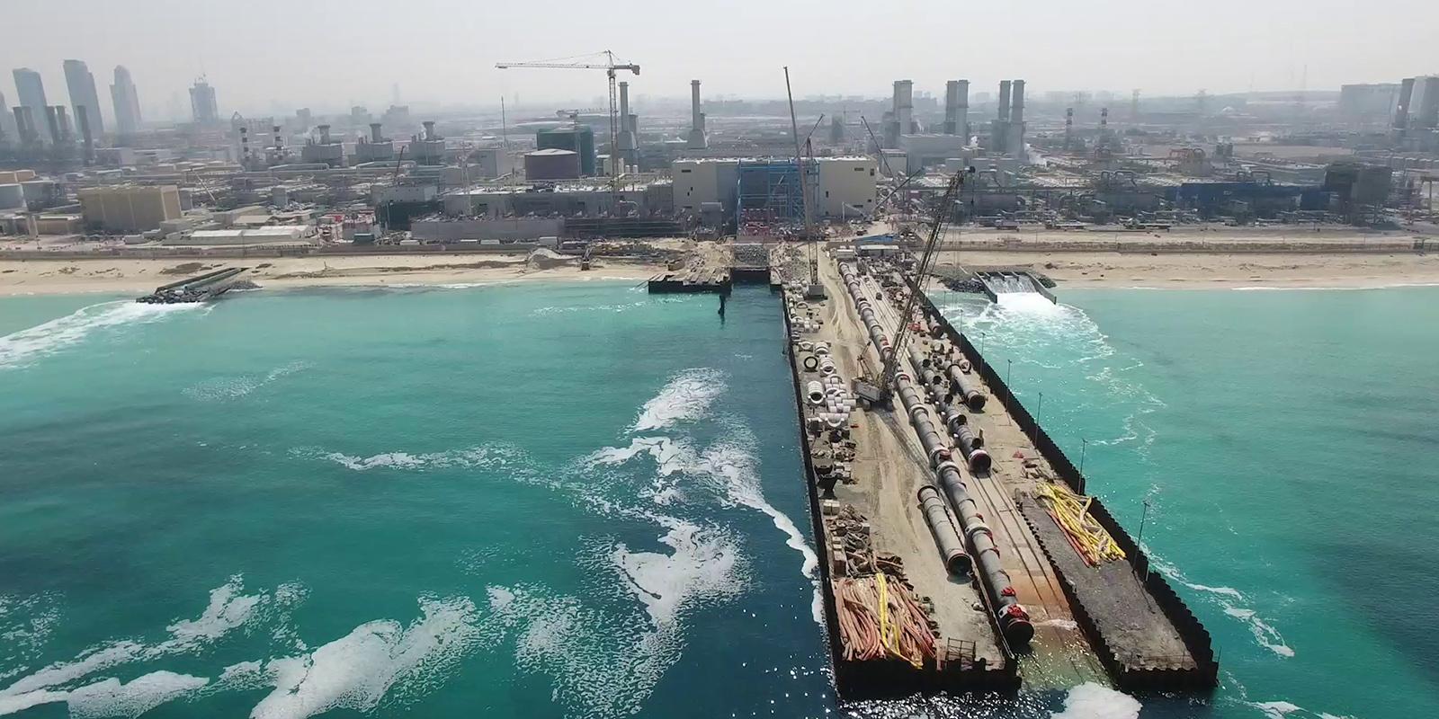 Desalination plant Jebel Ali