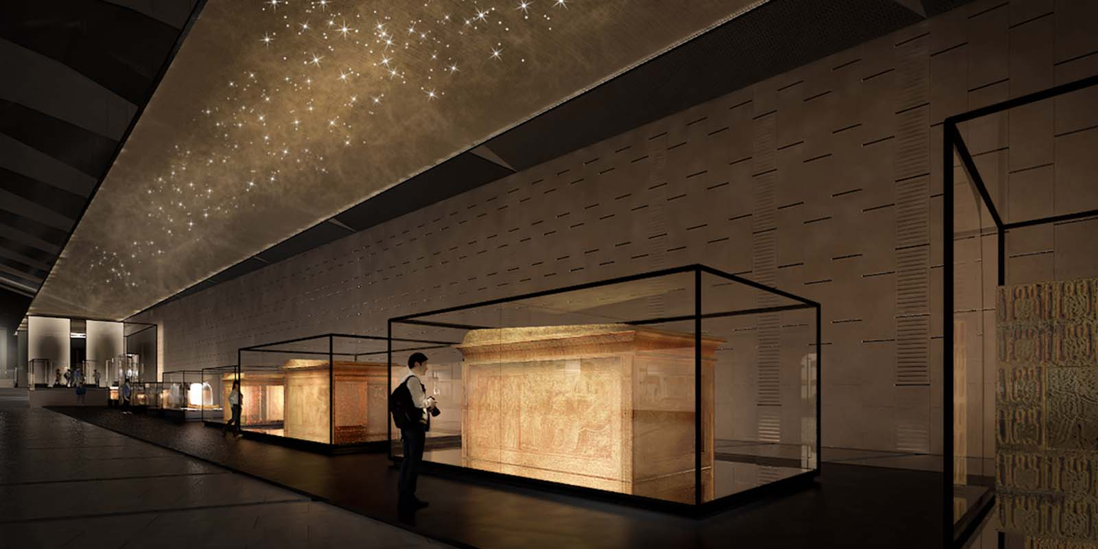 Grand egyptian museum acciona cultural engineering project