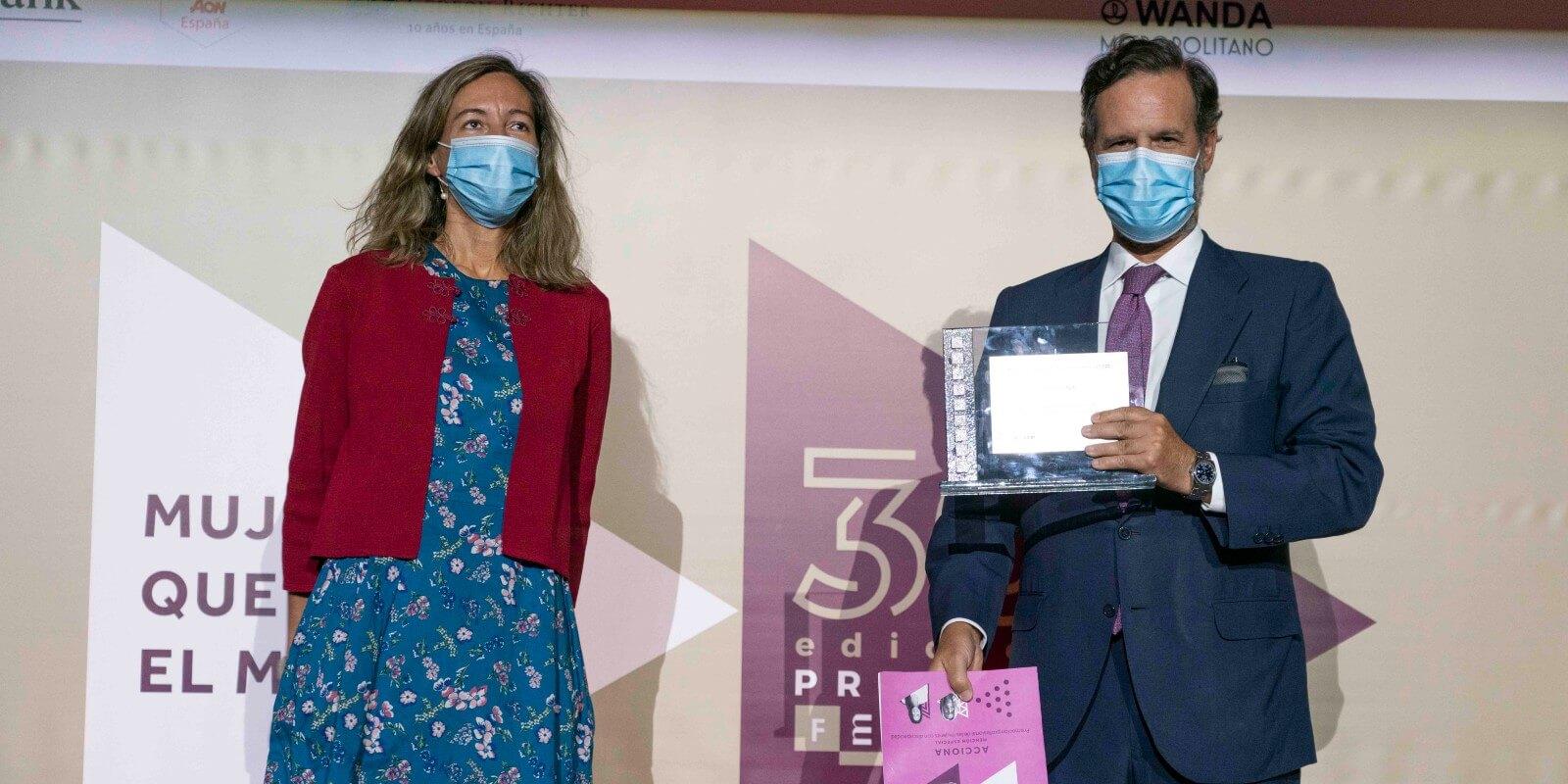 ACCIONA, premiada por la promoción profesional de las mujeres con discapacidad