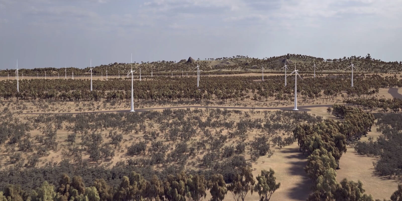 Acciona Macintyre Wind Farm