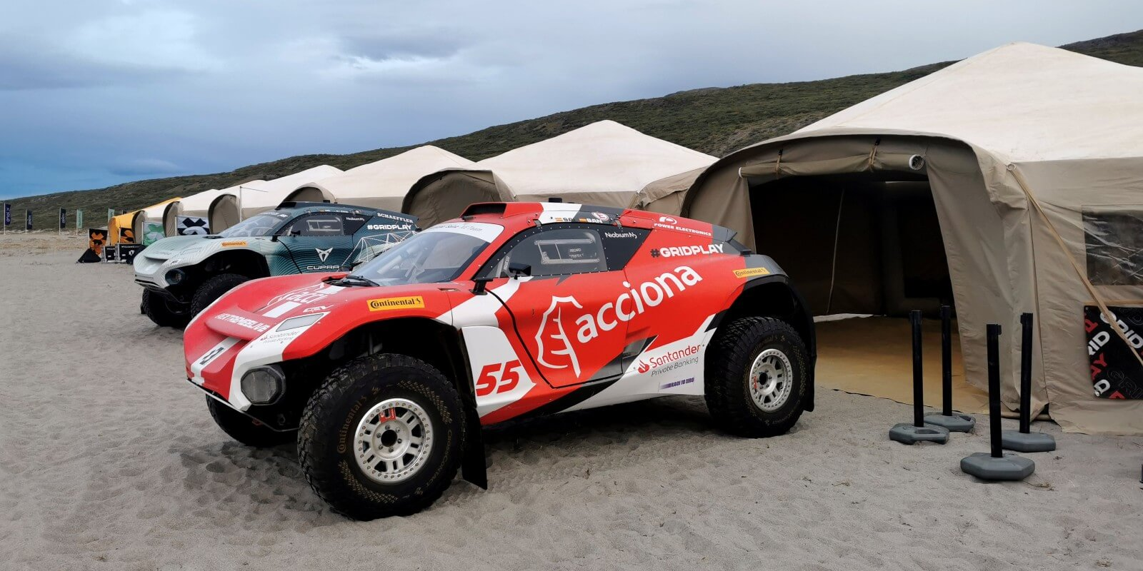 The ACCIONA|SAINZ XE team takes on the meltic Arctic in Greenland